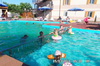 Лучший семейный  отдых с детьми  на Азовском море